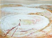 Sale 8297A - Lot 10 - Clifton Pugh (1924 - 1990) - Salt Pan, 1973 56 x 76cm