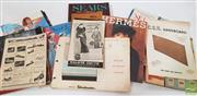 Sale 8900 - Lot 1 - Collection of Ephemera incl Womens Fashion Catalogues, etc