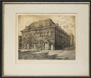 Sale 8716 - Lot 2044 - Artist Unknown (German School) - Hessenhuis 20.5 x 27cm