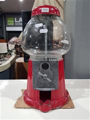 Sale 8760 - Lot 1045 - Metal Gumball Machine