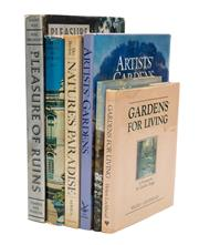 Sale 8864 - Lot 86 - A collection of books relating to mainly nature and gardens, including Houses, Gardens and Nature (6)