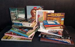 Sale 9208 - Lot 2042 - Box of Art & Other Books, some Australian, incl Kenneth Clark Civilisation: A Personal View 1971 BBC & Robert Hughes The Art of A...