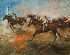 Sale 3655 - Lot 137 - Hugh Sawrey (1923-1999) - At the Finish