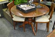 Sale 8046 - Lot 1043 - Early Circular Dining Table on Tripod Base