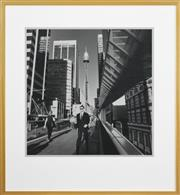 Sale 8961A - Lot 5041 - Rex Dupain (1954 - ) - The Centrepoint Man, 1996 48.5 x 48 cm (frame: 77 x 71 cm)