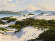 Sale 8575 - Lot 501 - Robyn Collier (1949 - ) - Footprints, Hawkes Nest 29.5 x 39.5cm
