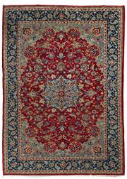 Sale 8780C - Lot 211 - A Persian Najafabad From Isfahan Region 100% Wool Pile On Cotton Foundation, 353 x 255cm
