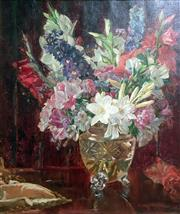 Sale 8297A - Lot 12 - George Whinnen (1891 - 1950) - Still Life, c1935 63 x 53cm