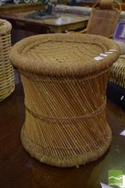Sale 8523 - Lot 1082 - Wicker Stool