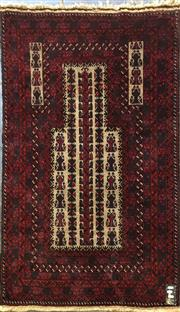 Sale 8740 - Lot 1583 - Persian Prayer Rug (145 x 88cm)
