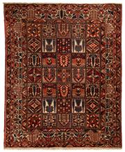 Sale 8780C - Lot 212 - A Persian Bakhtiyari And Classic Garden Design, 100% Wool On Cotton, Classed As Prerevolution Weave, 330 x 270cm