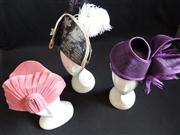 Sale 7982B - Lot 197 - Three straw fascinators