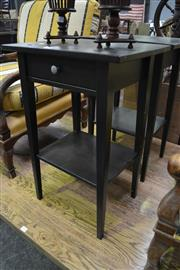 Sale 8087 - Lot 1052 - Pair of Bedside Cabinets