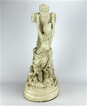 Sale 8139 - Lot 68 - Parian Rock of Ages Figure