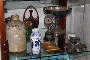 Sale 8160 - Lot 92 - Gehric & Co Sydney Demijohn with Other Wares incl an Inkwell