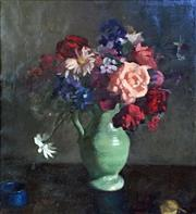 Sale 8297A - Lot 13 - Aileen Dent (1890 - 1979) - Mixed Bunch, c1930 62 x 57cm