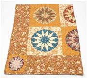 Sale 8651A - Lot 85 - A large hand pieced patchwork quilt by Rosemary Handler.