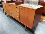 Sale 8741 - Lot 1025 - Nathan Teak Sideboard