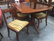 Sale 8839 - Lot 1334 - Timber Seven Piece Dining Suite