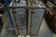 Sale 8563T - Lot 2303 - Pair of Metal Bound Trunks