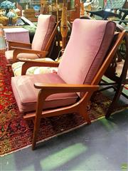 Sale 8648 - Lot 1031 - Pair of Retro Armchairs