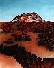 Sale 3847 - Lot 101 - SHAY DOCKING (1928 - 1998) - Volcanic Cone and Lava Flow (Volcanic Plains series, 1985) 94.5 x 76 cm