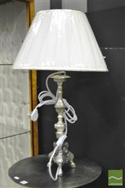Sale 8284 - Lot 1002 - Pair of Reproduction Table Lamps with Figural Lions on Tripod Bases (5551)