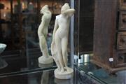 Sale 8346 - Lot 34 - Italian Alabaster Figure of a Nude