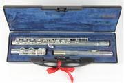 Sale 8445 - Lot 47 - Buffet Crampon Paris 6000 Series Sixteen Tone Silver Plated Flute