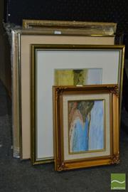 Sale 8503 - Lot 2077 - Group of (8) Framed Works incl Nancy Tanswell Mt Kembla Hotel Watercolour, J Lindsay Sever Nowra Country Watercolour and two pho...