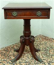 Sale 8881H - Lot 83 - A Regency style occasional table of diminiuative size. Height 46cm x Width 64cm x Depth 36cm together with another regency style exa...