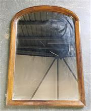 Sale 8971 - Lot 1042 - Timber Framed Arch Top Mirror (H:85 x W:58cm)