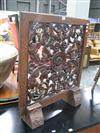 Sale 7922A - Lot 1184 - Pierced Oak Fire Screen