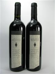Sale 8278A - Lot 84 - 2x 1998 Yalumba The Octavius Old Vine Shiraz, Barossa Valley - sample bottles, foxed labels