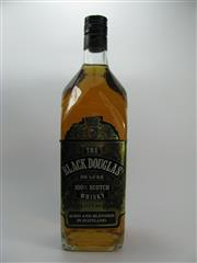 Sale 8201A - Lot 541 - 1x The Black Douglas Blended Scotch Whisky - 1000ml, old bottling, some losses