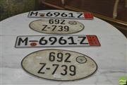 Sale 8251 - Lot 1066 - Two Sets of German Number Plates