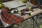 Sale 8289 - Lot 1022 - Scottish Bag Pipes
