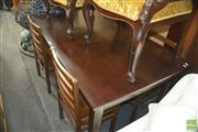 Sale 8331 - Lot 1349 - Timber Five Piece Dining Suite incl. Table & Four Chairs