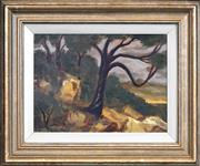 Sale 8422T - Lot 2074 - Dale Richards (1951 - ) - Landscape, 1997 22.5 x 31cm