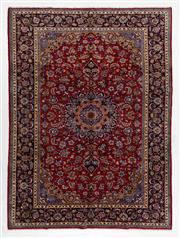 Sale 8740C - Lot 24 - A Persian Kashan From Isfahan Region 100% Wool Pile On Cotton Foundation, 360 x 265cm