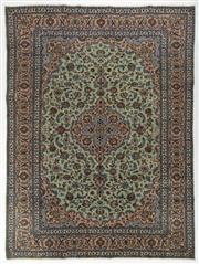 Sale 8760C - Lot 9 - A Persian Kashan From Isfahan Region 100% Wool Pile On Cotton Foundation, 406 x 302cm