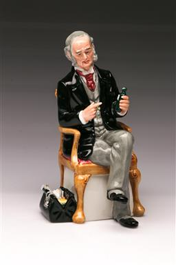 Sale 9110 - Lot 335 - Royal Doulton figure of The Doctor HN 2858