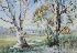 Sale 3809 - Lot 70 - CARLYLE JACKSON (1891 - 1940) - Trees 33.5 x 49 cm