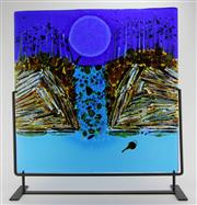 Sale 8139 - Lot 50 - Marc Grunseit The Shoalhaven Series Art Glass Panel
