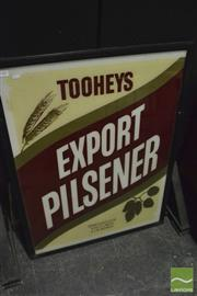 Sale 8350 - Lot 1007 - Tooheys Export Pilsner Pub Glass