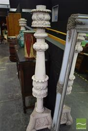 Sale 8523 - Lot 1004 - Pair Of Large Candelabras
