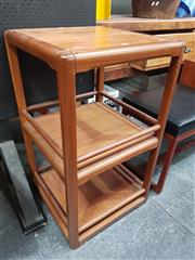Sale 8741 - Lot 1041 - Quality Danish Teak Revolving Dumbwaiter