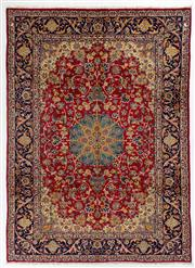 Sale 8740C - Lot 25 - A Persian Najafabad From Isfahan Region 100% Wool Pile On Cotton Foundation, 375 x 272cm