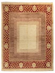 Sale 8780C - Lot 216 - An Afghan Chobi Naturally Dyed In Hand Spun Wool, Very Suitable To Australian Interiors, 320 x 246cm