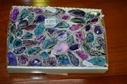 Sale 8093 - Lot 1395 - Box Polished Mini Geode Caves